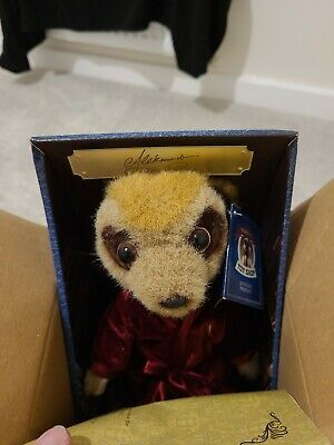 New In Box Yakov's Toy Store Aleksandr Meerkat Toy Doll Collectable Present Birt • 5.90£