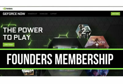 $ CDN15 • Buy NVIDIA Geforce Now - 1 Year Founders Membership (Fast Delivery)
