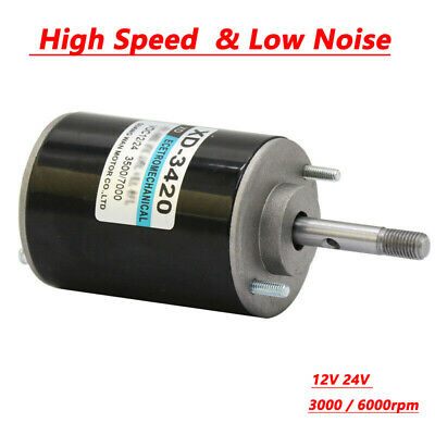 12V 24V 30W Permanent Magnet DC Electric Motor High Speed CW/CCW Generator UK • 18.09£