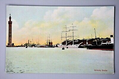 £3.99 • Buy R&L Postcard: Grimsby Dock, Tower, Roberts & Jackson, Coloured View