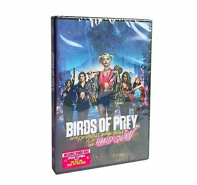 DVD Birds Of Prey : And The Fantabulous Emancipation Of One Harley Quinn New • 7.59£