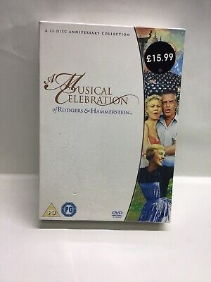 £14.99 • Buy Rodgers And Hammerstein Musicals DVD  12-Disc Set Box Set