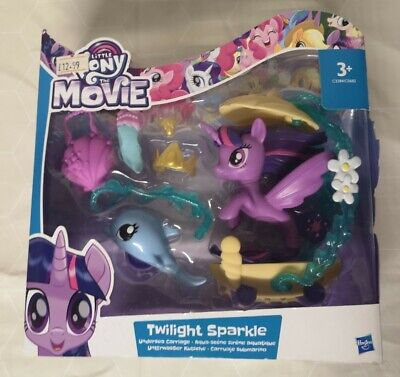 My Little Pony The Movie Twilight Sparkle Undersea Carriage  • 12£