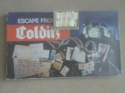 Vintage 'Escape From Colditz' - Gibson Games London - Made In England • 34.99£