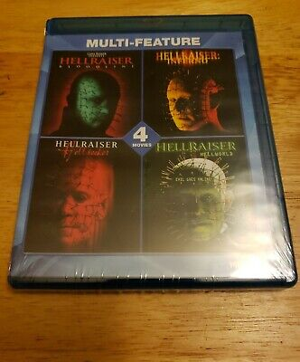 The Hellraiser Collection: 4 Film Set (Blu-ray Disc, 2014) NEW • 13.11£