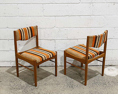AU550 • Buy Mid Century Modern Teak Dining Side Chairs By Chiswell Furniture Vintage Retro