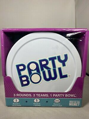 AU20.39 • Buy Party Bowl Party Game From What Do You Meme Brand New Free Shipping!