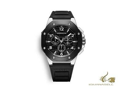 Cornavin Downtown Sport Quartz Watch, Chronograph, 44,5mm, Black, CO2012-2005R • 515£