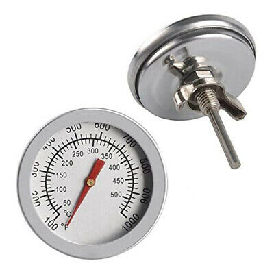 £5.29 • Buy Stainless Steel Oven Thermometer Temperature Gauge For Pizza Ovens BBQ Cooker DG