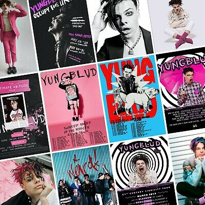 YUNGBLUD Weird! Life On Mars 2021 Tour PHOTO Print POSTER Art 21st Century Dom • 3.49£