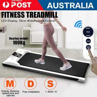 AU299 • Buy AU LCD Electric Treadmill Walking Pad Home Office Gym Exercise Fitness Compact