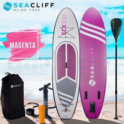 AU369 • Buy 【EXTRA10%OFF】SEACLIFF 10ft Stand Up Paddleboard Paddle Board SUP Inflatable