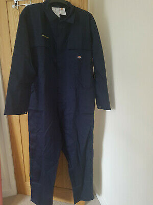 Dickies Fire Resistant Proban Coverall Overalls Boiler Suit:   Size 54R (FR4869) • 25£