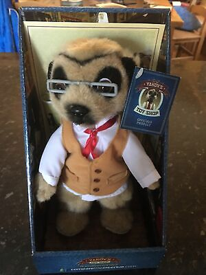 Meerkat Toy. Yakov. Complete With Tag, Cert And Letter. Still Attached To Box. • 0.99£