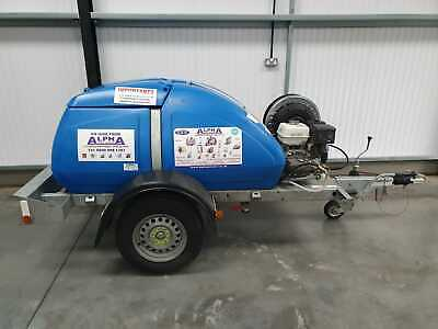 £4500 • Buy Trailer Mounted, Engine Driven, Cold Pressure Washer With Bowser