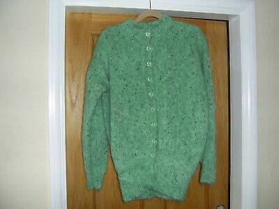 Mohair Hand Knitted Cardigan  - New - Vintage - Free Size • 45£