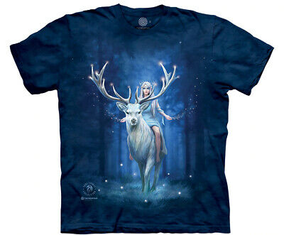 £26.99 • Buy FANTASY FOREST The Mountain T Shirt Stag Anne Stokes Unisex