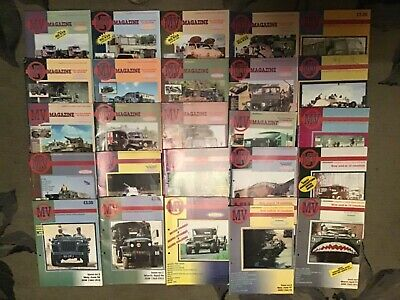 £39.95 • Buy WW2 Post War MV Military Vehicle Magazine Complete 26 Issues Jeep Tank Gmc Book