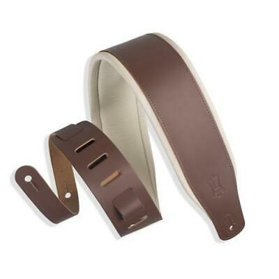 $ CDN38.91 • Buy Levy's Padded Leather Guitar Strap, Brown & Cream