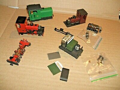 Small Assortment Of Narrow Gauge (009/H0e) Locos Spares Or Repairs • 56£
