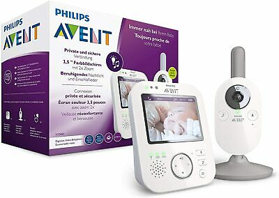 AU860.89 • Buy Philips Avent Scd843/26 - Baby Monitor With Video (Colour Screen Of 3,5 Inch