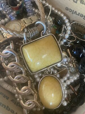 $ CDN18.28 • Buy Vintage To Now Jewelry Lot Unsearched Untested Estate Finds L4
