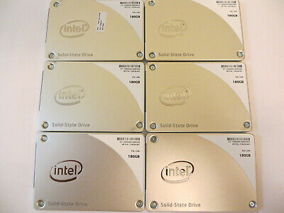 $ CDN288 • Buy Lot Of 12x Intel Pro1500 Series 180GB Internal SATA 2.5  SSD (SSDSC2BF180A4H)