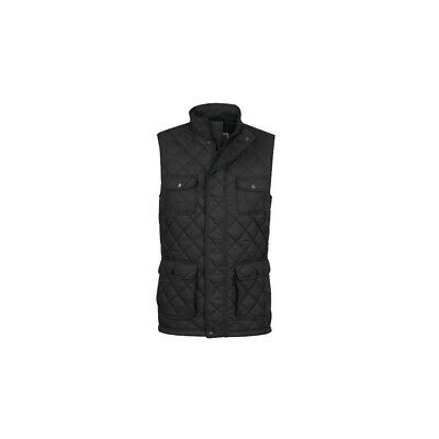 £79.99 • Buy Jack Murphy Timothy Quilted Gilet - Pitch Pitch Black