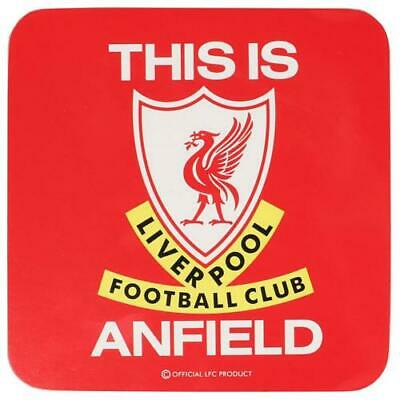 Liverpool FC Large Single Coaster Official Product • 6.39£