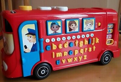 Vtech Learning Bus Alphabet Learning Interactive Sounds Imm Cond  • 6£