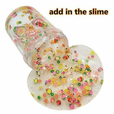 AU4.68 • Buy 1500Pcs Fruit Slices Decor Additives For Slime Filler Supplies Charms Clay