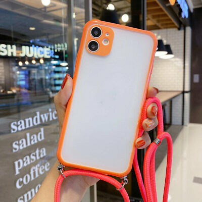 AU12.65 • Buy Shockproof Case For IPhone 11 Pro Max XS MAX XR X 8 7 PLUS With Strap Cord Chain