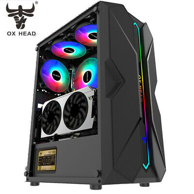 AU75 • Buy Gaming Computer Case, Case For Desktop PC Gaming Casing Full ATX OX Head Brand