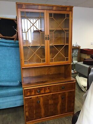 Yew Wood Display Cabinet  • 30£