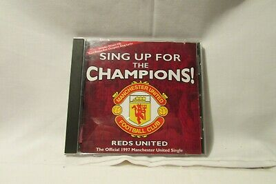 Sing Up For The Champions -manchester United Football Club - Offical 1997 M.u  • 4.99£