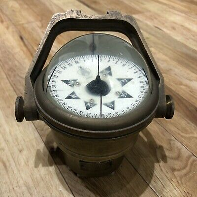 Sestrel Ships Compass Made By Henry Brown& Sons • 80£