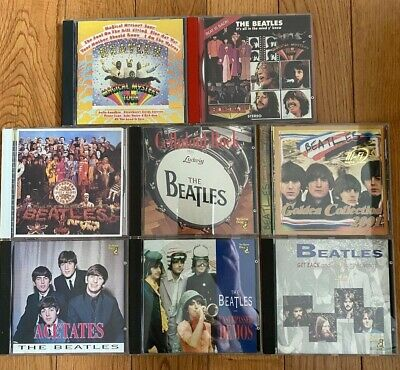 $ CDN39.20 • Buy Lot Of 8 THE BEATLES Cds, Rock, Sgt. Pepper's, Magical Mystery, Unsurpassed Demo