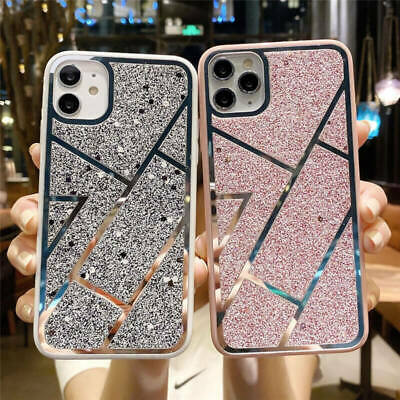 AU12.65 • Buy Luxury Bling Glitter Phone Case Cover For IPhone 11 Pro Max XR XS SE 8 7 Plus