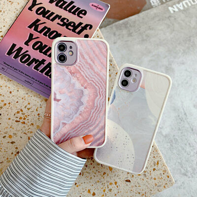 AU12.69 • Buy Marble Soft Case Cover For  IPhone 12 11 Pro Max XS XR SE2 8 Plus TPU Thin Slim