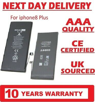 GENUINE REPLACEMENT BATTERY FOR APPLE IPHONE 8 PLUS OEM 2691mAh Free UK Delivery • 7.25£