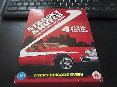 Starsky And Hutch The Complete Collection Season 1 2 3 & 4 DVD Region 2 • 13£