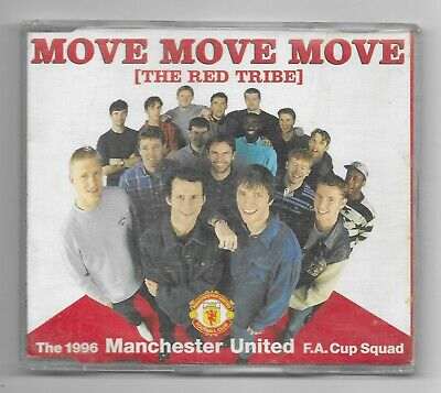 Move Move Move - The Red Tribe The 1996 Manchester United F.a.cup Squad • 2.99£