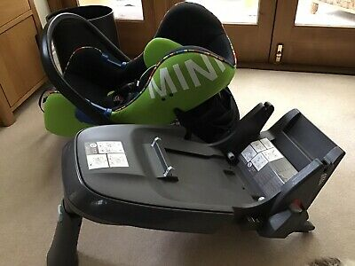 Bmw Mini Baby Car Seat And Isofix O+ 15 Months • 80£
