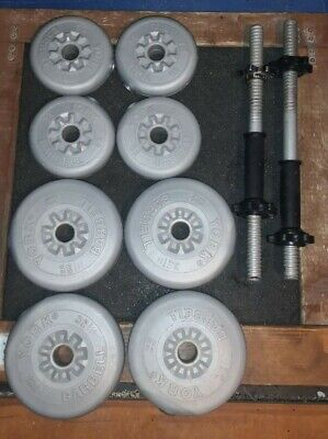 1 Inch Spinlock Dumbbell Set - 15kg Weight • 38£