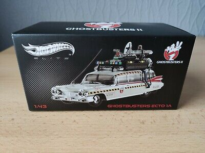 Hotwheels Elite 1:43 ECTO 1A Ghostbusters 2 Car Die Cast Model BOX ONLY • 10£