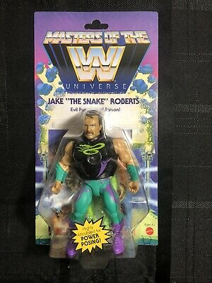 $34.99 • Buy Masters Of The WWE Universe Series 4 JAKE  THE SNAKE  ROBERTS -Christmas Gift