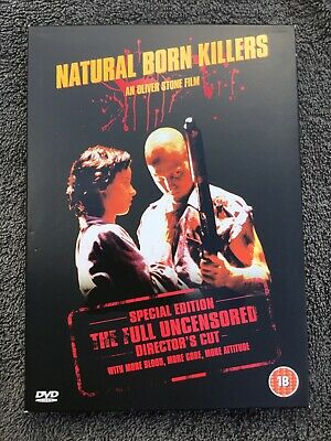 Natural Born Killers Dvd Oliver Stone Directors Cut Woody Harrelson • 2£