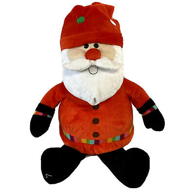 Santa Father Christmas Chilly And Friends 2010 Soft Plush Toy Seated 13  Tesco • 9.99£