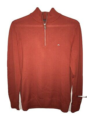 Lindeberg Merino Zip Sweater • 10£
