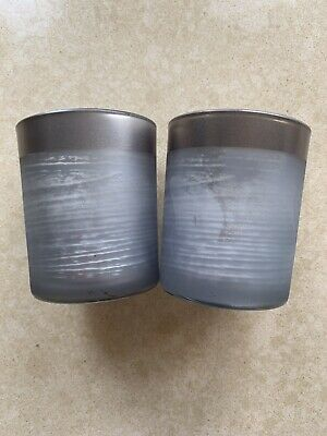 Yankee Candle Ombre Forest Votive Holder X 2 Steven Corfield QVC • 9.99£